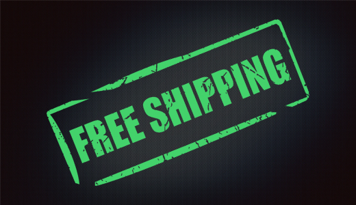 Free shipping is granted.